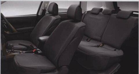 『フォレスター』 純正 SJ5 SJG オールウエザーシートカバー(フロント) 1脚分 パーツ スバル純正部品 座席カバー 汚れ シート保護 Forester オプション アクセサリー 用品