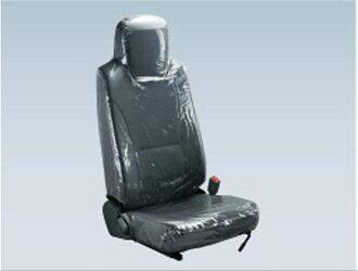 『エルフ』純正FR6AAFR6AAS〜シートカバー(透明ビニール)ダブルキャブ用リヤワイドキャブパーツいすゞ純正部品座席カバー汚れシート保護オプションアクセサリー用品