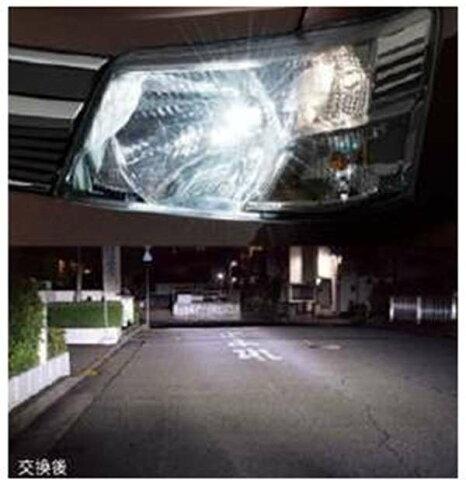 『アトレーワゴン』 純正 S321G S331G LEDヘッドランプバルブ パーツ ダイハツ純正部品 電球 照明 ライト オプション アクセサリー 用品