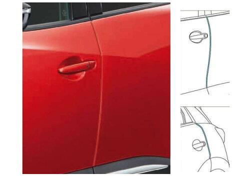 『CX-3』 純正 DK5FW DK5AW ドアエッジモール ※4本セット パーツ マツダ純正部品 ドアモール 保護 ワンポイント オプション アクセサリー 用品