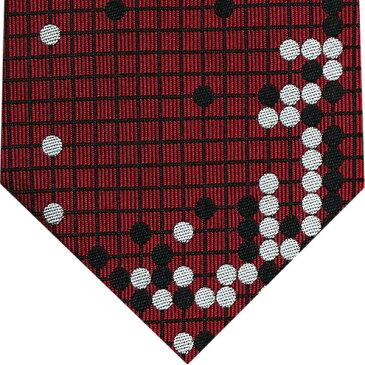 ネクタイ 囲碁将棋 エンジGS-022『耳赤の譜』 『耳赤の一手』シルク GO SHOGIプレゼント ギフト 贈り物