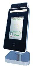 【旧型台座タイプ】顔認証機能検温器QuickHygieneTerminalクイックハイジーンターミナル自動検温システムQHT