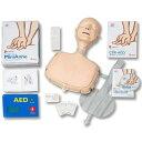 DVDを「見ながら練習」する個人用CPR・AED学習キットレールダル ミニアン (CPR・AED学習キット)
