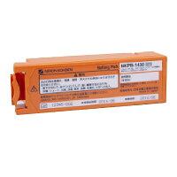 日本光電AED-2100(ステータスインジケータの周囲がオレンジ)専用バッテリパックNKPB-1430