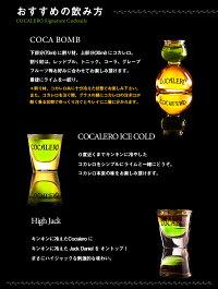 【送料無料】COCALEROコカレロボムグラス付き700ml[29度]【コカの葉】【ハーブリキュール】【果実酒】