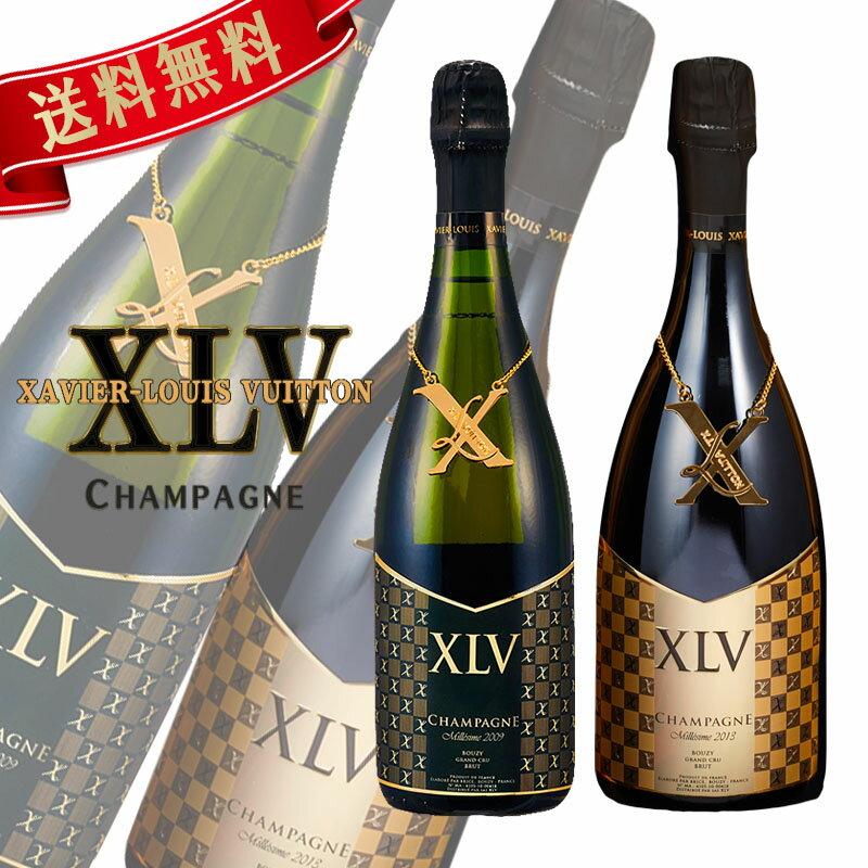 ワイン, スパークリングワイン・シャンパン XLV 2 2013 2009 XAVIER-LOUIS VUITTON PierreGarden