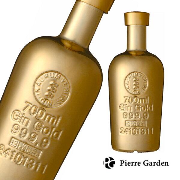 ゴールド999.9ジン700ml40度GOLDGIN金ゴールドボトルお酒プレゼントお祝い結婚祝いバースデーギフト母の日父の日Pi