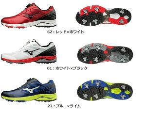 【Mizuno GOLF~ミズノ ゴルフ】ゴルフシューズ ゴルフ【ウエーブケイデンス ボア】[メンズ]【3色展開】(24.5〜27.0、28.0、29.0cm)(足幅EEE相当)