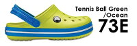【crocs(クロックス)】Kids'Crocband™Clogクロックバンドクロッグキッズ【カラー:73E-TennisBallGreen】<サイズ(cm):15.5/16.5/17.5/18.0/18.5/19.0/20.0/21.0>