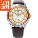 【送料無料】クリオブルー メンズ腕時計〈W−CLM15220BRN〉(...