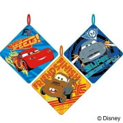 Disneyループ付タオル:Cars