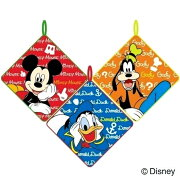 Disneyループ付タオル:にんきもの