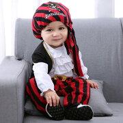 海賊帽付きベビーパイレーツ