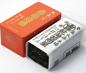 『大森小町』 焼寿司海苔 細巻用2切100枚(赤缶か緑缶を選べます)本州お届けは【送料無料】 ※赤缶入りも緑缶入りも内容は同じです。【楽ギフ_包装】【楽ギフ_のし】