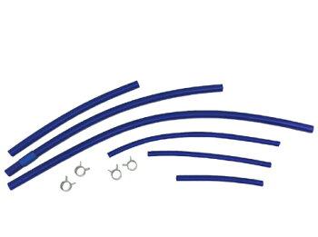 シリコンホースセット(カスタム/メンテナンス)】ジムニーJB23W5/6型,7/8/9型用(シリコンチューブ)【0304superP2】