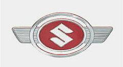 カードOK!!ハスラー エンブレムMR31S用スズキハスラー用二輪ハスラーの復刻版エンブレム 1枚...