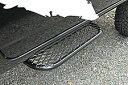 タニグチ製スズキジムニーJB23WサイドステップIIブラックペイ...