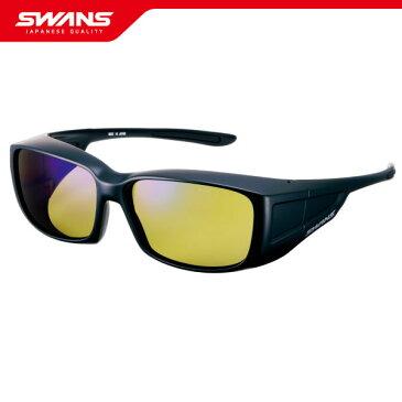 SWANS スワンズ サングラス OG4-0168 MBK オーバーグラス眼鏡の上に装着可能【偏光レンズ UVカット 紫外線予防 ウォーキング アイウェア SWANS公式ショップ スポーツ アウトドア スポーツウエア ゴーグル 送料無料】
