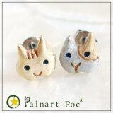 パルナートポック ピアス センツァカーサ 猫 【Palnart Poc/パルナートポック】【Brough Superior/ブラフシューペリア】 ねこ ネコ キャット