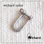 """【メール便送料無料】ウィチャードロングシャックル """"S"""" Wichard Long Shackle """"S"""" 現在もプロのヨットマン達から支持され続ける、本物のヨットツールです。【キーリング キーホルダー ヨットツール】メール便可能商品 ウィチャードセイラー カラビナ"""