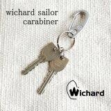 正規品 ダブルリング付属 wichard sailor carabiner S/ウィチャード セイラー カラビナ Sサイズ 【キーリング キーホルダー ヨットツール】セーラー 雑貨