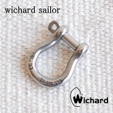 ウィチャード セイラー バウシャックル Lサイズ wichard bow shackle 現在もプロのヨットマン達から支持され続ける、本物のヨットツールです【キーリング キーホルダー ヨットツール】DM便可能商品 雑貨