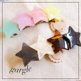 【gargle/ガーグル】range stars バレッタ DM便可能 ヘアアクセサリー スター 星 月 ムーン 大きめ かわいい ピン p2p2