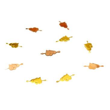 レジンやネイルアートに!「矢で射抜かれたハート」 極薄メタルパーツ 10枚セット【RCP】