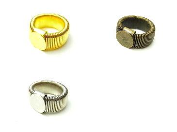 ★(225')デコ土台 リング 指輪 簡単デコ ゴールド/シルバー/アンティークゴールド