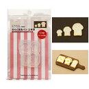 (S1024)シリコンモールドクレイジュエリーきのこ型食ぱんパントースト立体型サンドウィッチフェイクフードミニチュア食玩
