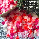 (we31)フラワーシャワー【ピンクミックス】たっぷり約2000枚入りフェイクペタル花びらフレーク造花ウェディングブライダルパーティー雑貨