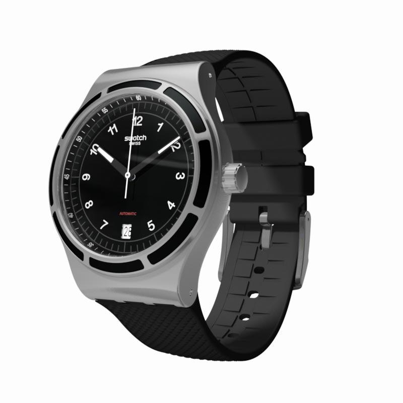 【楽天市場】【公式ストア】Swatch スウォッチ SISTEM DARK システム・ダーク YIS413Irony ...