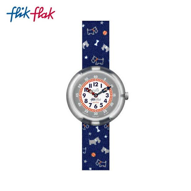 【公式ストア】Flik Flak フリックフラック SCOTT'N'TERRY スコットネテリー FBNP100Swatch(スウォッチ) Story Time(ストーリータイム) (素材)ベルト:ファブリック ケース:プラスチックキッズ ボーイズ ガールズ 腕時計 人気 定番 プレゼント