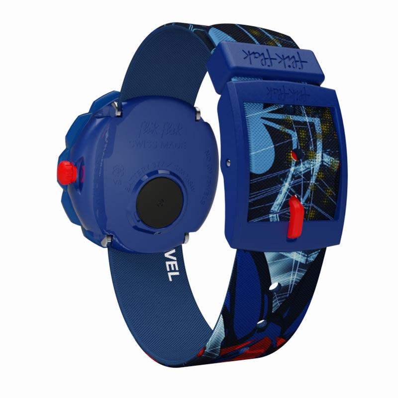 【公式ストア】Flik Flak フリックフラック SPIDER-MAN IN ACTION スパイダーマン・イン・アクション FLSP012Swatch(スウォッチ) Friends & Heroes(フレンズ&ヒーローズ) キッズ ボーイズ 腕時計 人気 定番 プレゼント