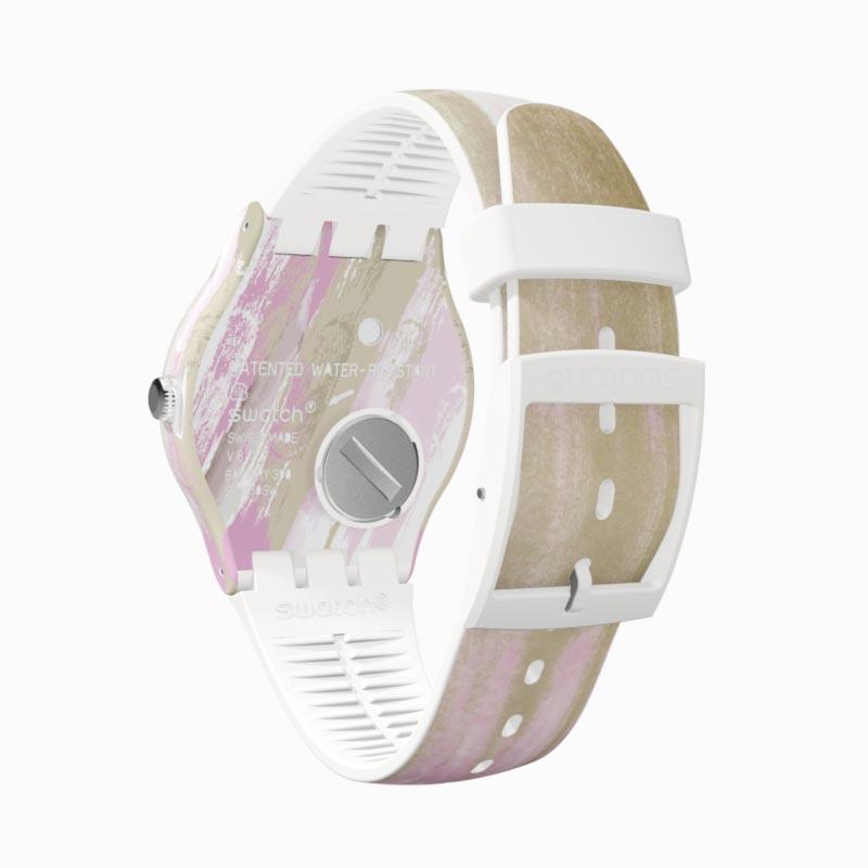 【公式ストア】Swatch スウォッチ PINKQUARELLE ピンククアレール SUOW151Originals(オリジナルズ) New Gent(ニュージェント) 【】(素材)ベルト:シリコン ケース:プラスチックレディース 腕時計 人気 定番 プレゼント