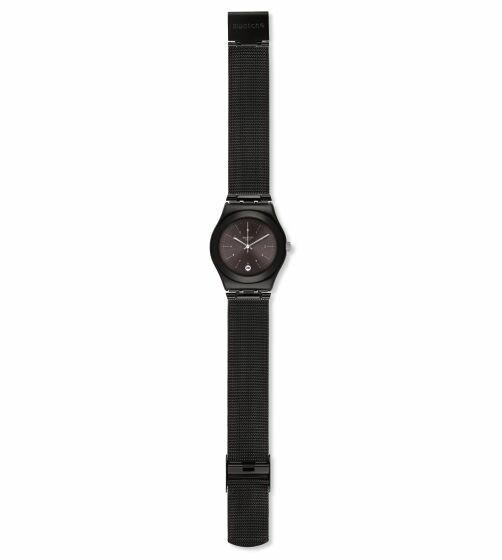 【公式ストア】Swatch スウォッチ NERONERO ネロネロ YLB403Mirony(アイロニー) Irony Medium(アイロニーミディアム) (素材)ベルト:ミラノ風 ケース:ステンレススチールレディース 腕時計 人気 定番 プレゼント