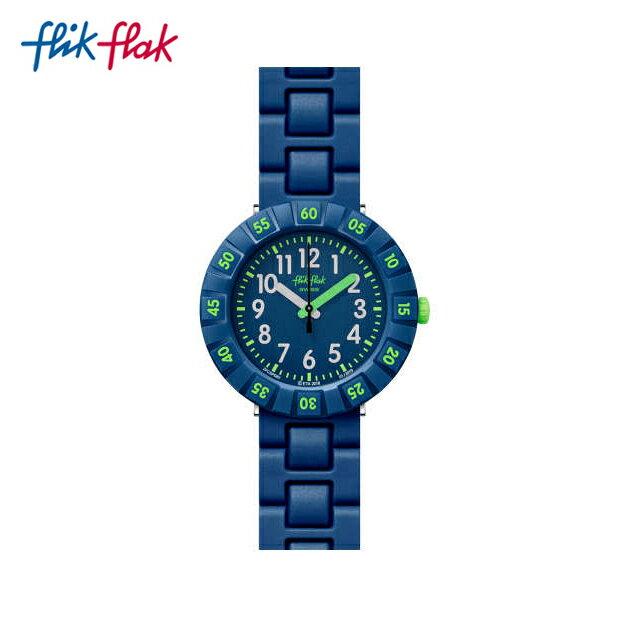 腕時計, キッズ用腕時計 Flik Flak SOLO DARK BLUE FCSP086Swatch() Power Time 7(7) ()