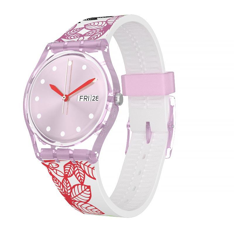 【公式ストア】Swatch スウォッチ SUMMER LEAVES サマーリーブス GP702Originals(オリジナルズ) Gent(ジェント) (素材)ベルト:シリコン ケース:プラスティックレディース 腕時計 人気 定番 プレゼント