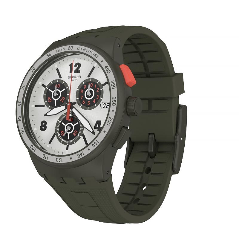 【公式ストア】Swatch スウォッチ VERDONE ヴェルドーネ SUSG405Originals(オリジナルズ) Chrono Plastic(クロノプラスティック) (素材)ベルト:シリコン ケース:プラスティックメンズ 腕時計 人気 定番 プレゼント