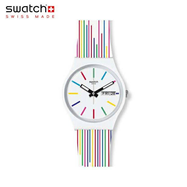 腕時計, 男女兼用腕時計 Swatch WHITE SAMBA GW712Originals() ()