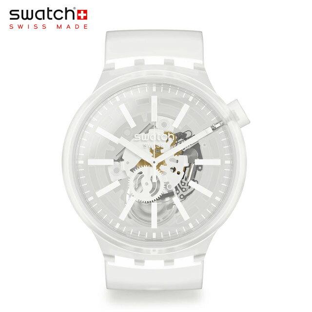 腕時計, 男女兼用腕時計 Swatch WHITEINJELLY SO27E106Originals() Big Bold() ()