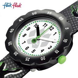 【公式ストア】Flik Flak フリックフラック MIRACULOUS CAT NOIR ミラキュレス・シャノワール FPSP058Swatch(スウォッチ) Power Time 7+(パワー・タイム・7+) 【送料無料】(素材)ベルト:再生petキッズ ボーイズ 腕時計 人気 定番 プレゼント