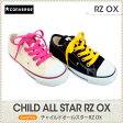 コンバース CONVERSE チャイルド オールスター キッズ CHILD ALL STAR RZ OX スニーカー sneaker White/Black /16.0 17.0 18.0 19.0 20.0 21.0 22.0