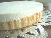 アメリカン レアチーズケーキバースデーケーキ