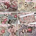 大人気シリーズ第3弾!綿麻 Vintage Collage 2013
