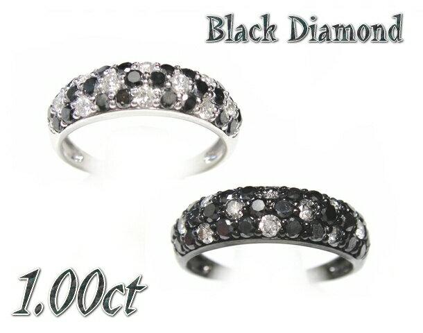 【予約】【ランキング1位】ゴージャスモザイクフラワー!パヴェ計1.00ctUPブラックダイヤモンドリング【リアルタイム,アクセサリー-指輪(1/30-9)】【ポイアプ】:sweet platinum