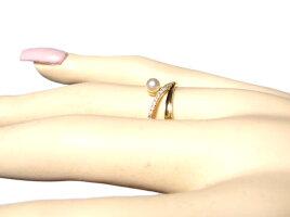 【限定2種】【楽天ランキング2位】人気の3.5mmUPあこやベビーパールK18ダイヤ&パールリング【アコヤ,あこや真珠,和珠,本真珠】【リアルタイム,アクセサリー-指輪(4/30)】