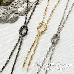 シンプルだから使えるネックレスは、大人のYタイプ♪ジャケットやベストの隙間からのぞかせて♪...