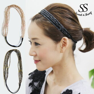 Sales ★ Sweet &Sheep beads 8-hairband ★ 2 color ★