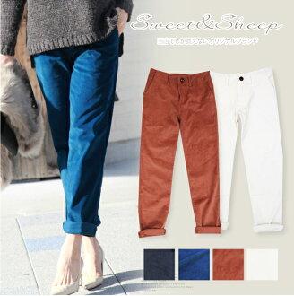Underwear Shin pull きれいめ Lady's Sweet & Sheep ◆ corduroy underwear